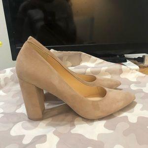 Nine West Shoes - Nine West Suede Block heel